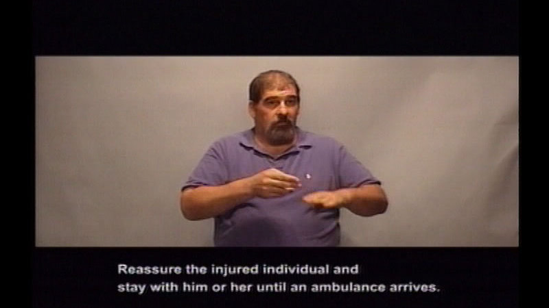 Still image from Driver's Education:  Part 9--Collision Prevention