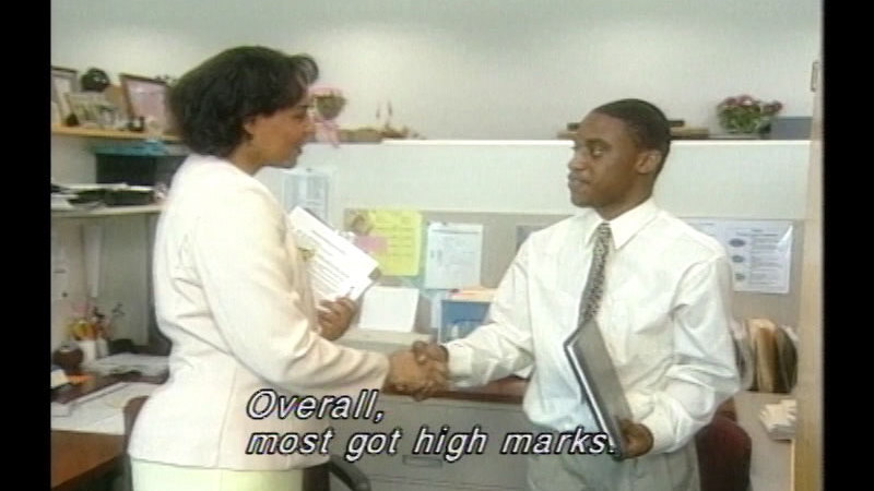 Still image from Making a Good Impression: Resumes, Interviews, Appearance