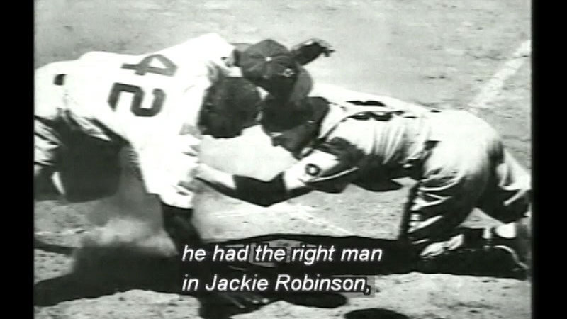 Still image from Dem Bums: The Brooklyn Dodgers
