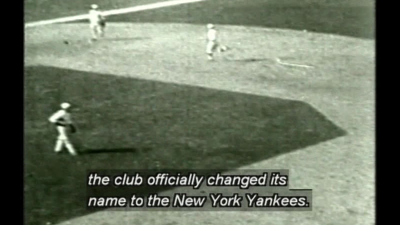 Still image from: Dynasty: Yankees