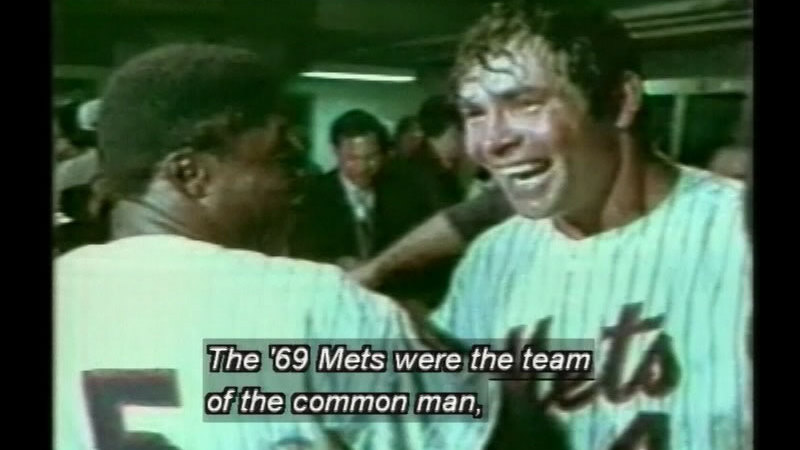Still image from: The Greatest Season: The 1969 World Champion New York Mets