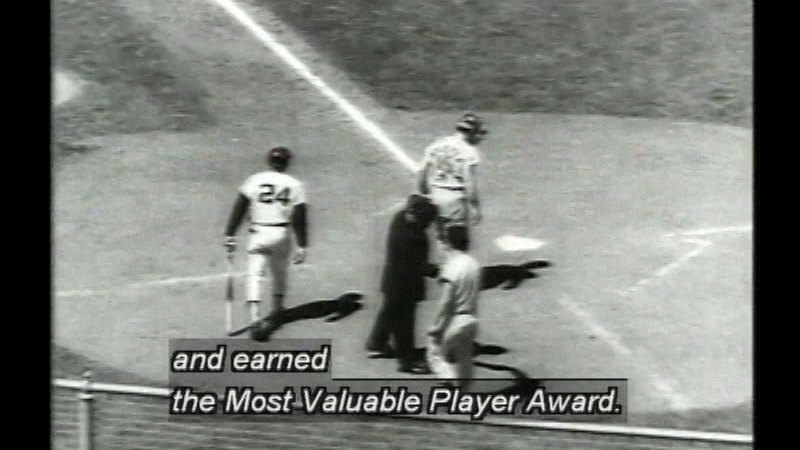 Still image from Willie Mays: In His Own Words