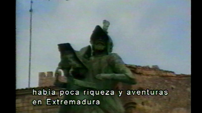Still image from Extremadura . . . Land of the Conquistadores (Spanish)