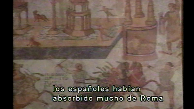 Still image from Spanish History: The Heritage of Rome (Spanish)