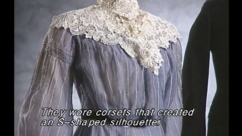Still image from: Fashion Frenzy 100 Years of Clothing History