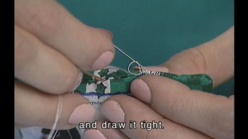 Still image from: Sew Cool Productions: The Basics of Sewing