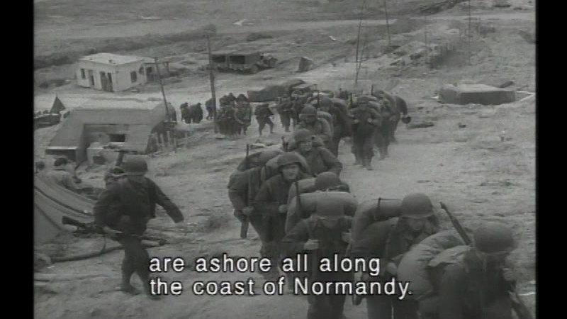 Still image from D-Day & World War II