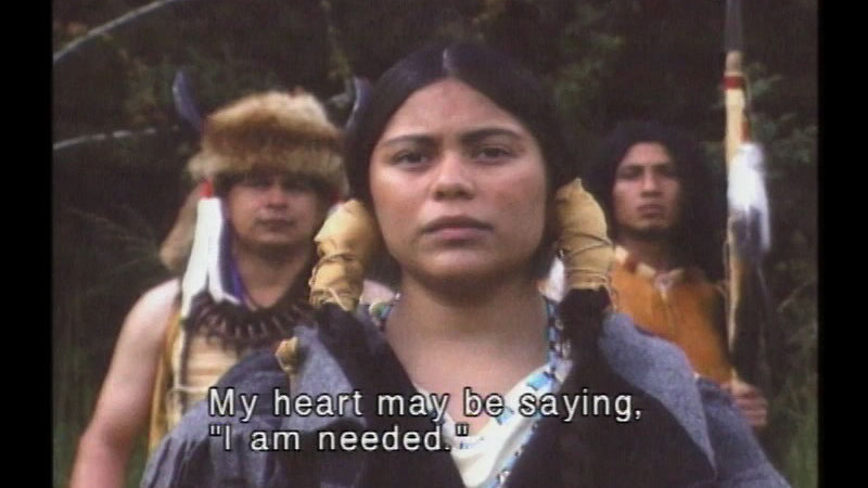 Still image from Sacagawea: Over the Rockies to the Pacific