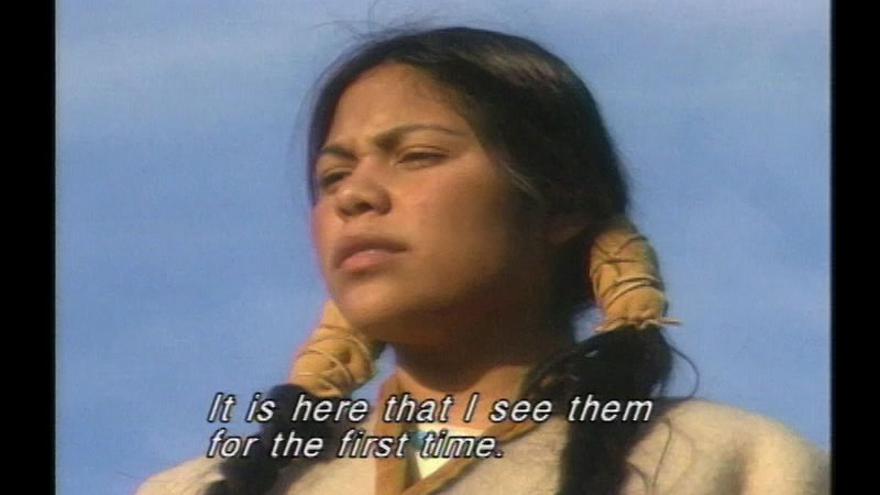 Still image from: Sacagawea: St. Louis to Ft. Mandan