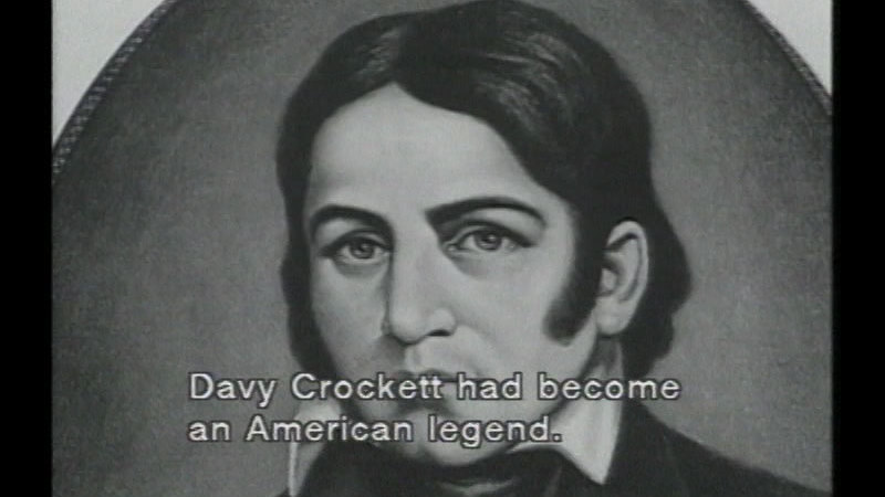 Still image from Biographies of Famous People: Davy Crockett