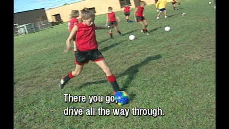 Still image from: Introduction to Soccer: Getting Started