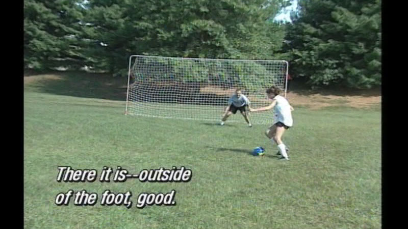 Still image from Soccer For Girls: Getting Started