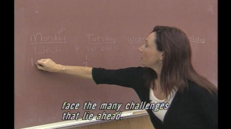 Still image from The New Teacher: Meeting The Challenges