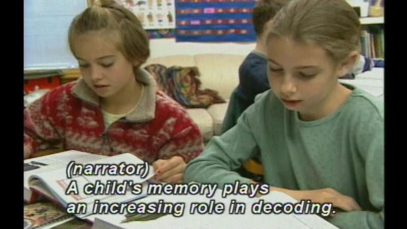 Still image from: Mastering The Challenge Of Reading