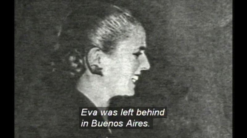 Still image from: Evita: The Life Of Eva Peron