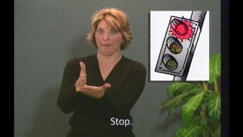 Still image from Family Sign Language And Informational Video Series (Lessons 8-10)