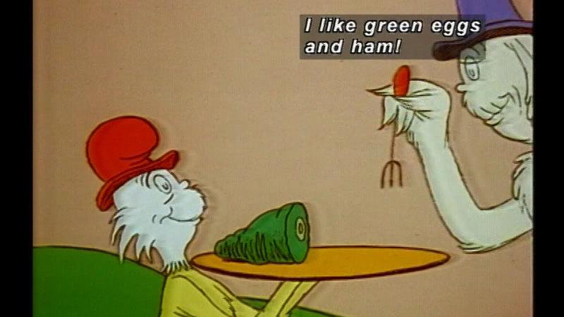 Still image from Green Eggs & Ham