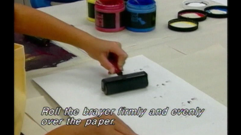 Still image from: Printmaking