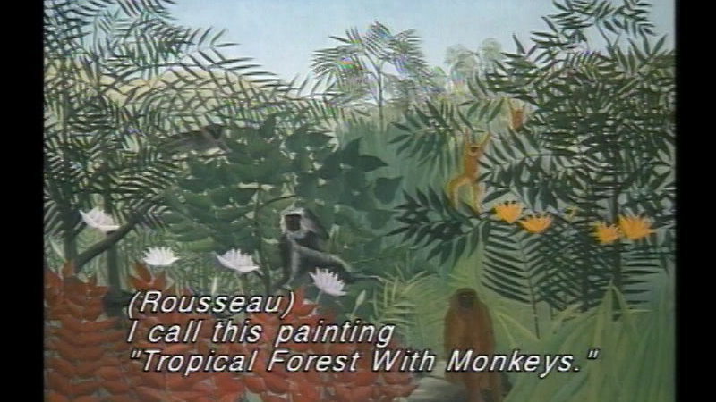 Still image from Dropping In On Rousseau