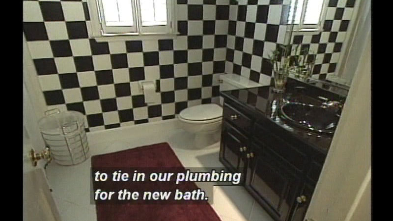 Still image from: Upstairs Bathroom Addition