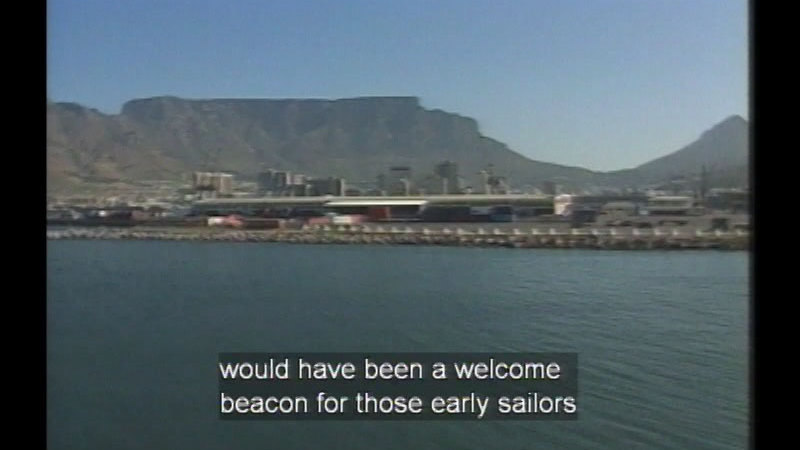 Still image from: South Africa
