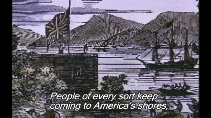 Still image from: The Story Of America: Part 1: Forging A Nation
