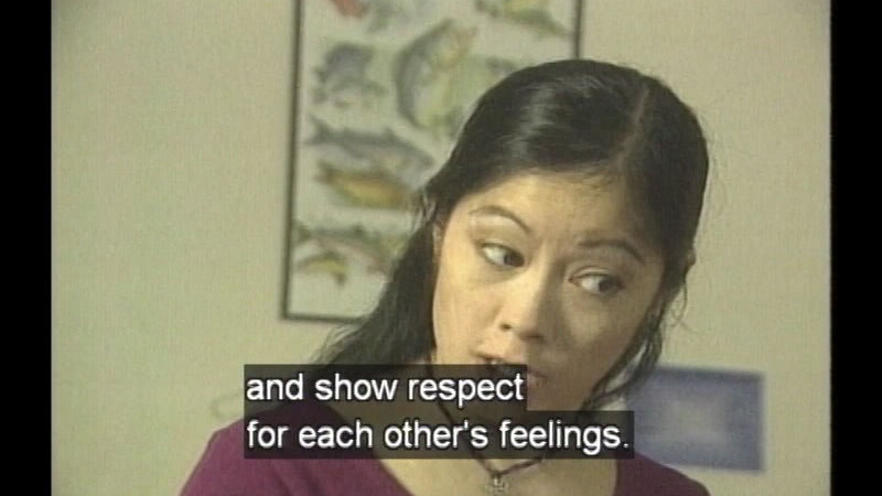 Still image from: Student Workshop: Let's Talk About Respect