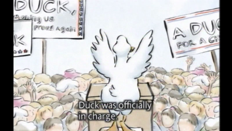 Still image from Duck For President