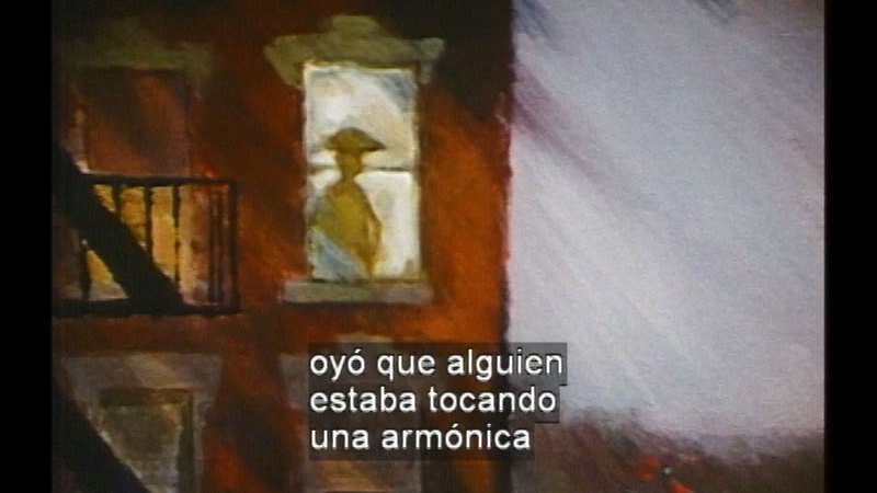 Still image from Apt. 3 (Spanish)
