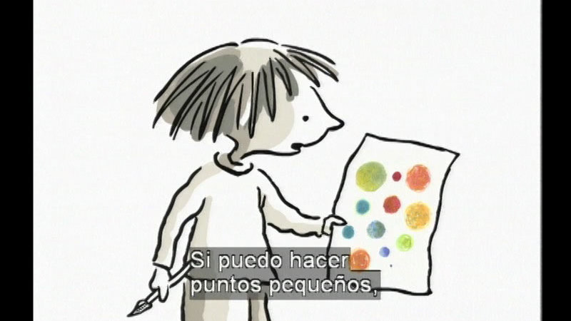 Still image from The Dot (Spanish)
