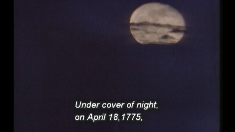 Still image from Paul Revere: The Midnight Rider