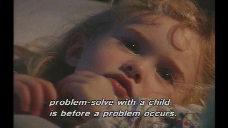Still image from: Calming The Tempest:  Helping The Explosive Child
