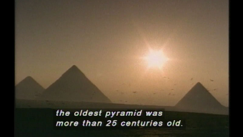 Still image from: Great Egyptians