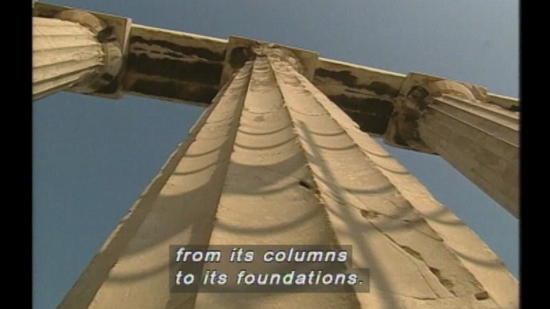 Still image from: Parthenon: Design And Architecture