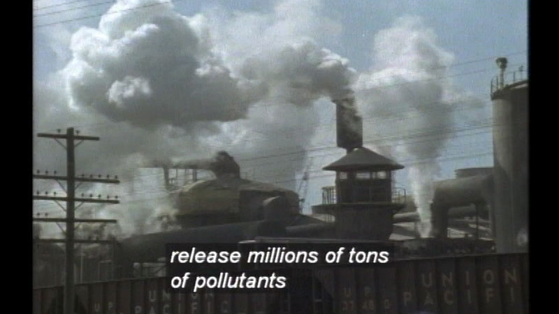 Still image from People And The Environment