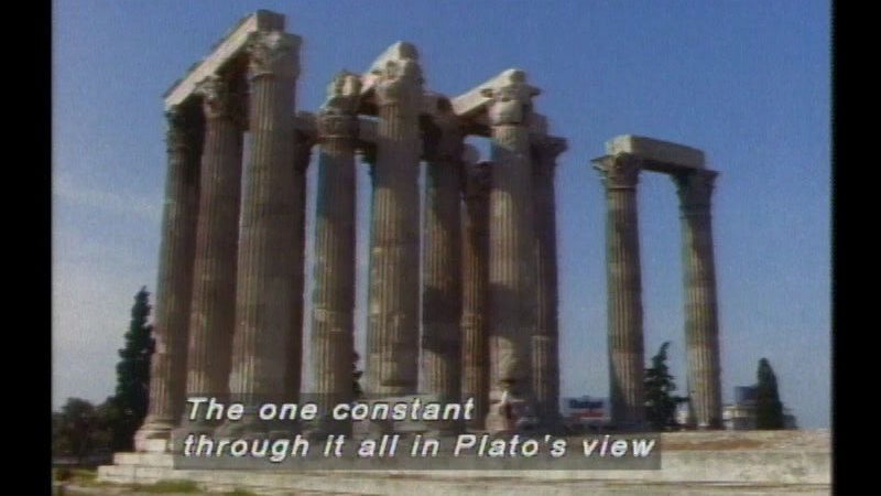 Still image from Plato's Republic