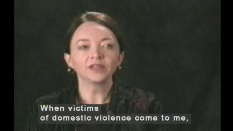 Still image from Survival From Domestic Violence:  Stories Of Hope And Healing