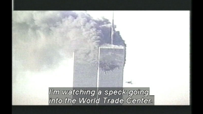 Still image from: The Day The Towers Fell