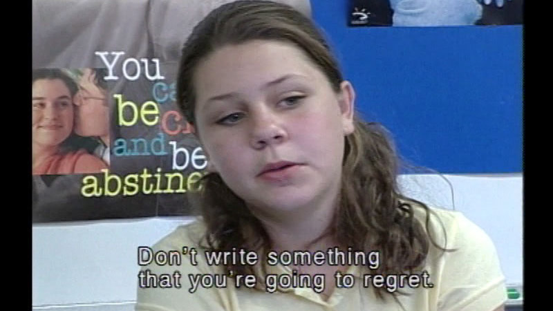 Still image from Real People:  Bullying, The Internet, And You