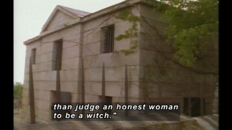 Still image from: Salem Witch Trials