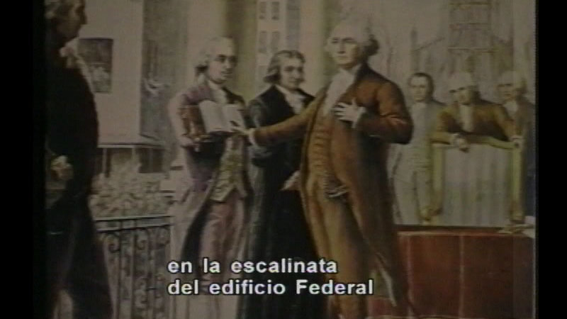 Still image from: The First American Revolution 1750-1789 (Spanish)