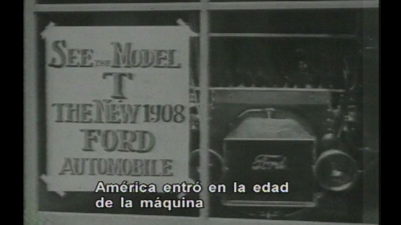 Still image from The Transformation Of American Society (Spanish)