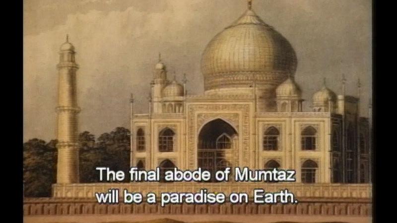 Still image from The Taj Mahal & Shah Jahan