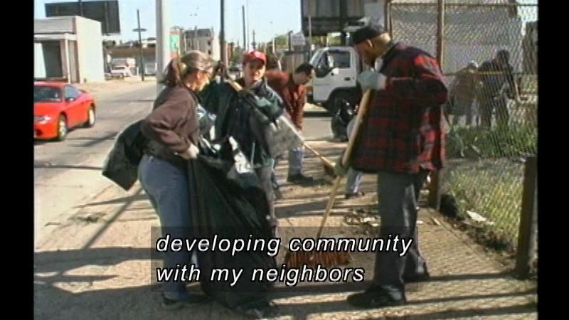 Still image from Active Citizenship: Making A Difference