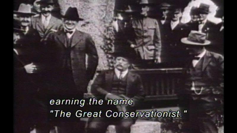 Still image from: Cleveland, McKinley, & Theodore Roosevelt