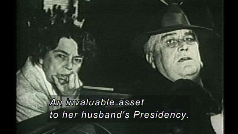 Still image from Franklin D. Roosevelt