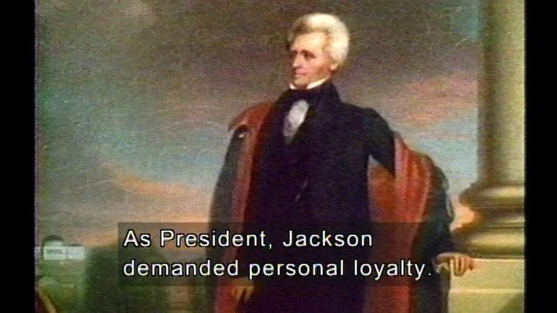 Still image from: J.Q. Adams, Jackson, & Van Buren