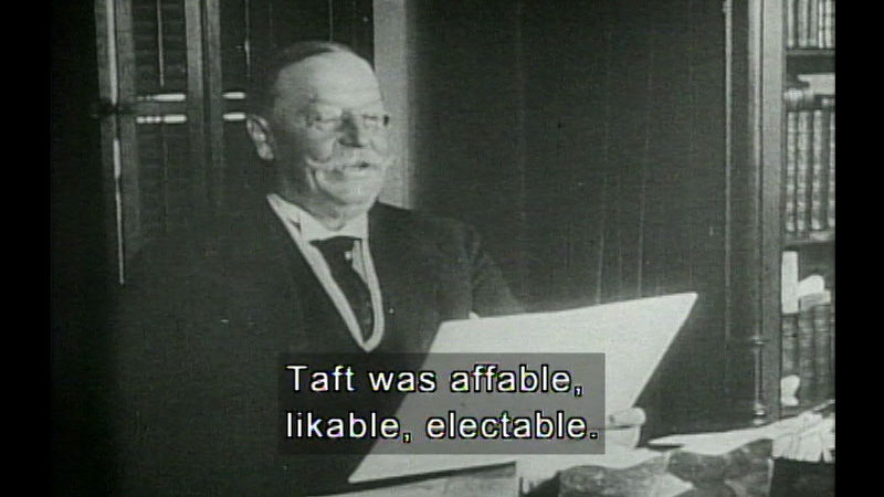 Still image from Taft, Wilson, Harding, Coolidge,  & Hoover