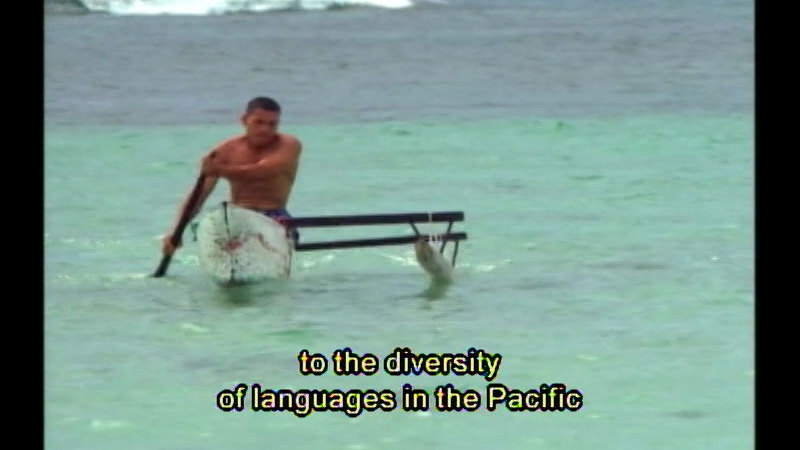Still image from: Speaking In Tongues: The History Of Language--Mother Tongues