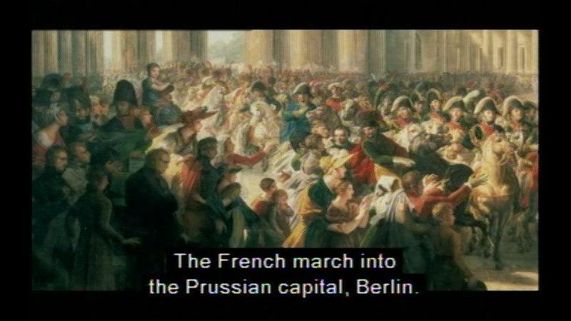 Still image from: Life Under Napoleon: Part II